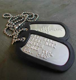 teacher gift dog tags