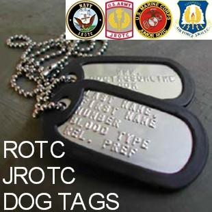 Rotc Dog Tags Jrotc Dog Tags Army Air Force Navy