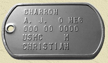 Marine Dog Tags With Current Usmc Id Tags Text Format