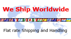 we ship worldwide